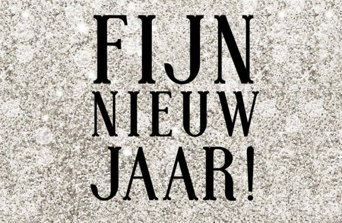 Fijn nieuw jaar • THIS IS YOUR YEAR TO SPARKLE!