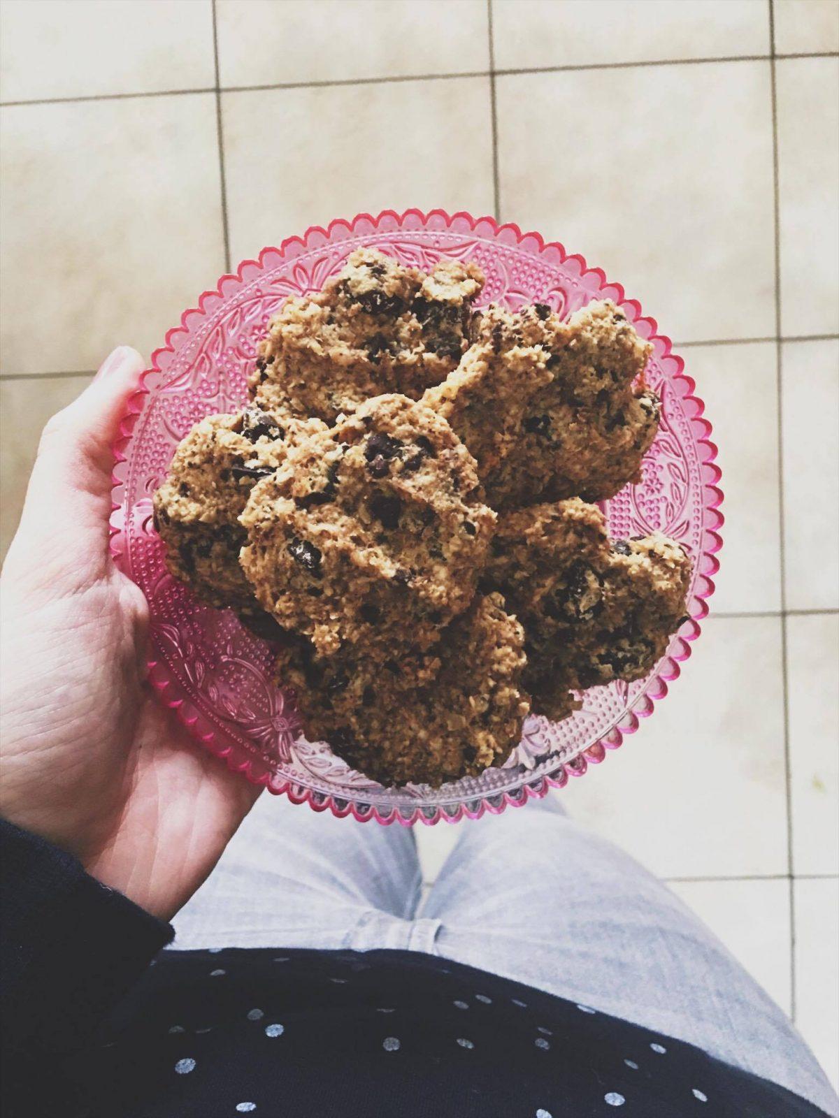 Recept • Havermoutkoekjes met chocola!