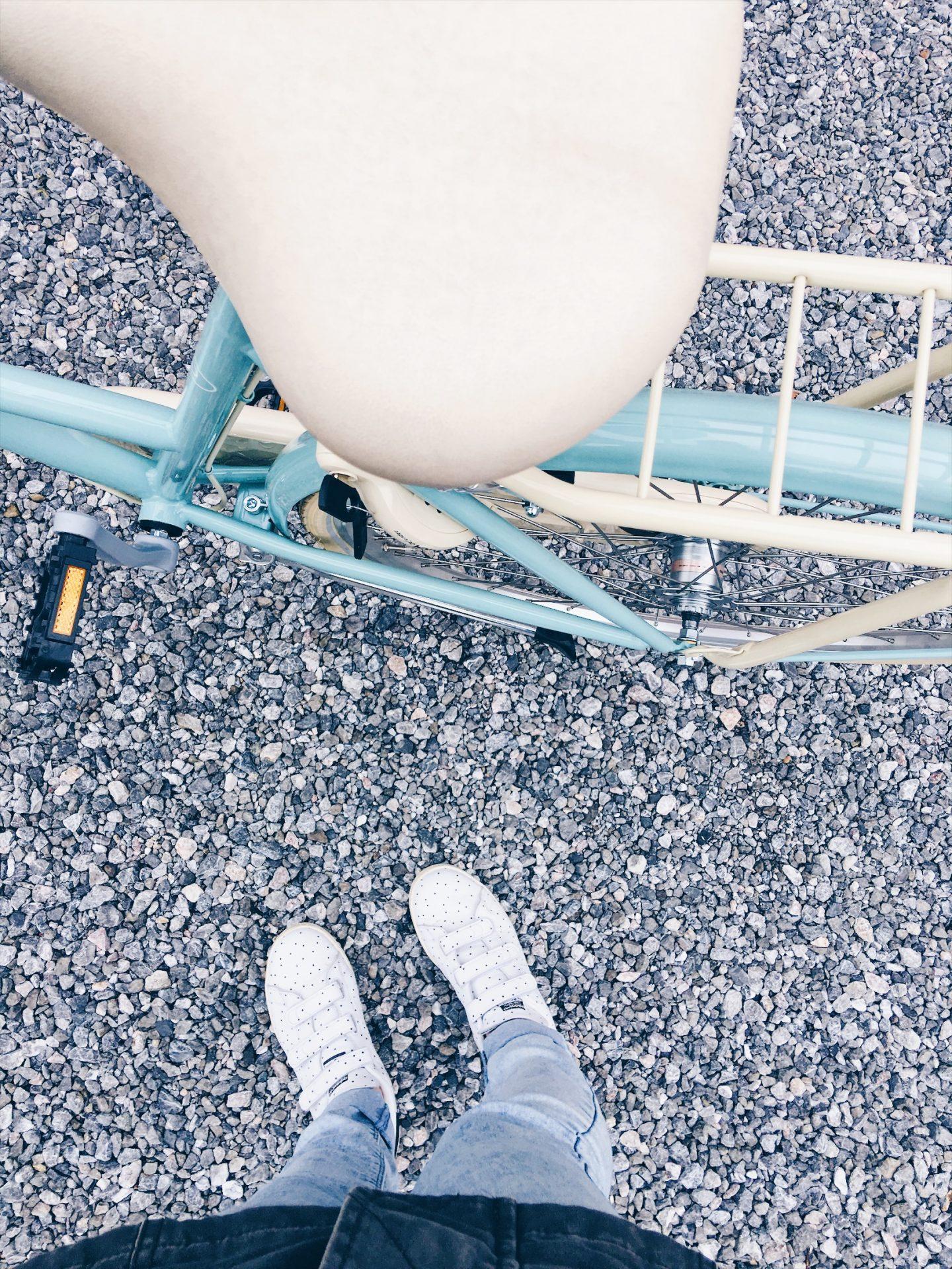 Dingen die ik denk als ik naar mijn werk fiets