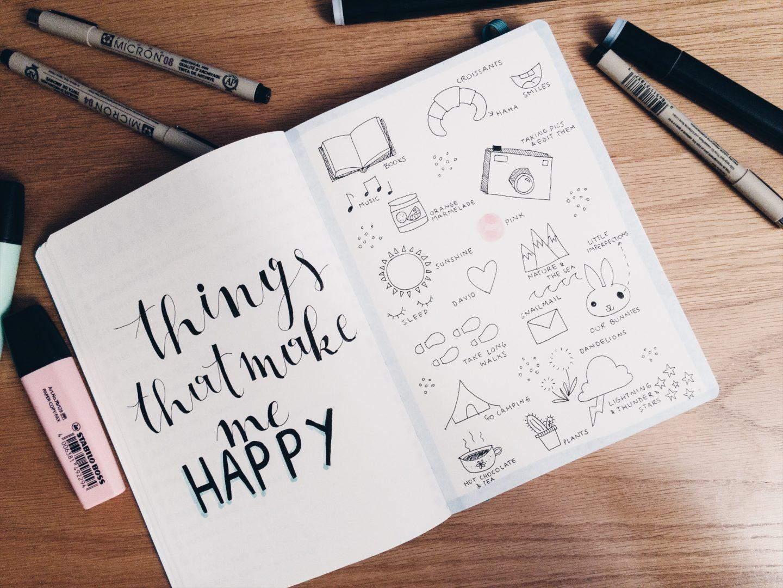 Een kijkje in mijn self care journal