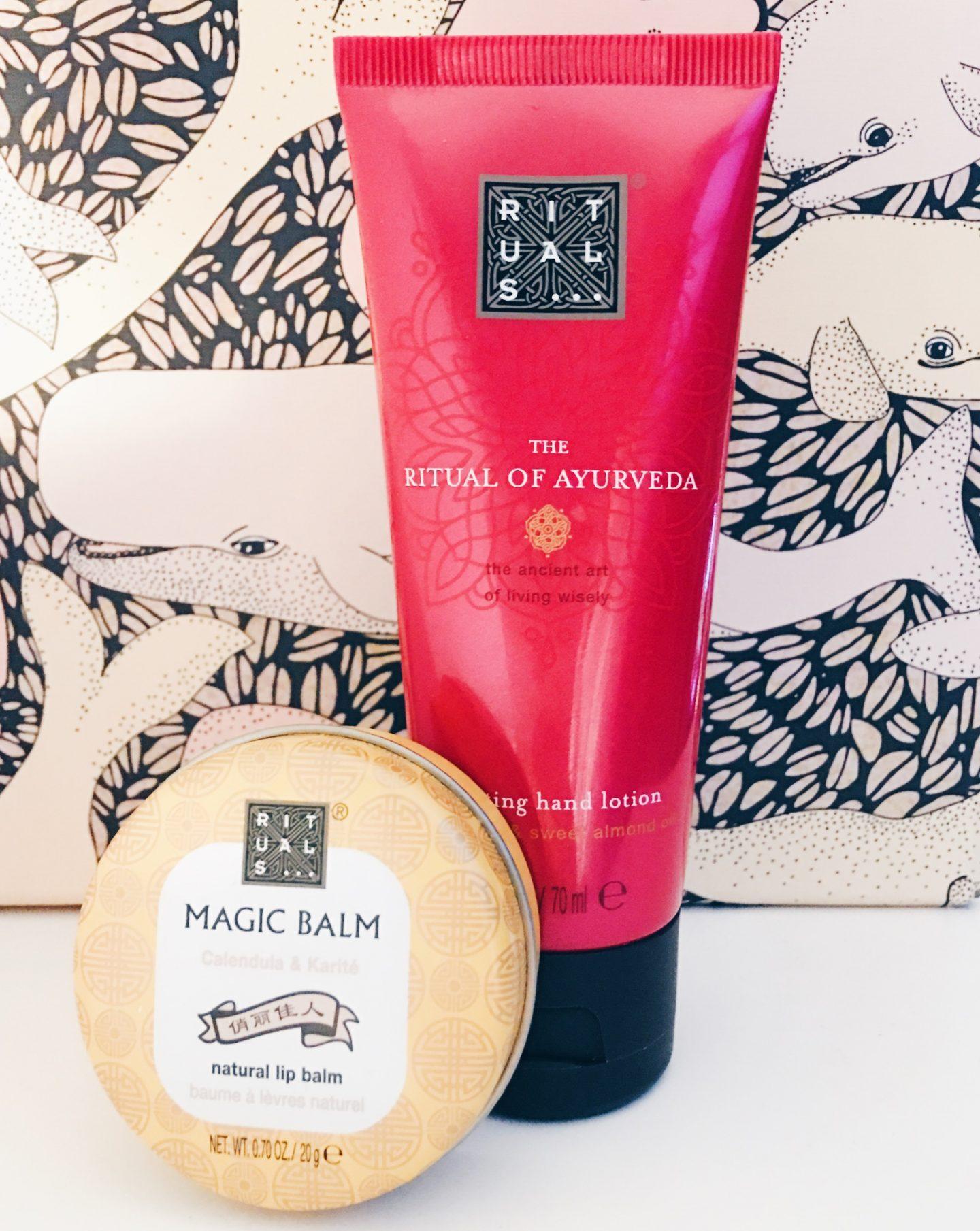 Mini review | Rituals handcrème & natural lip balm
