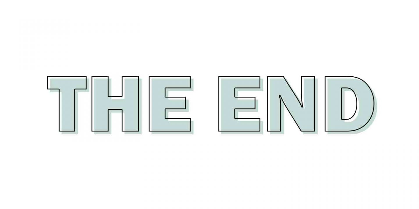 #40dagenbloggen | The End.