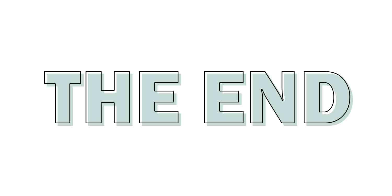 #40dagenbloggen | The End.