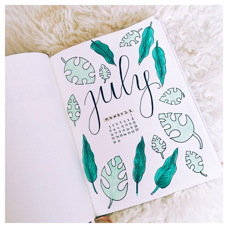 Bullet journal | Juli.