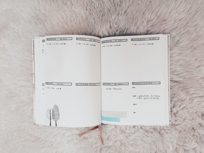 Bullet Journal | November