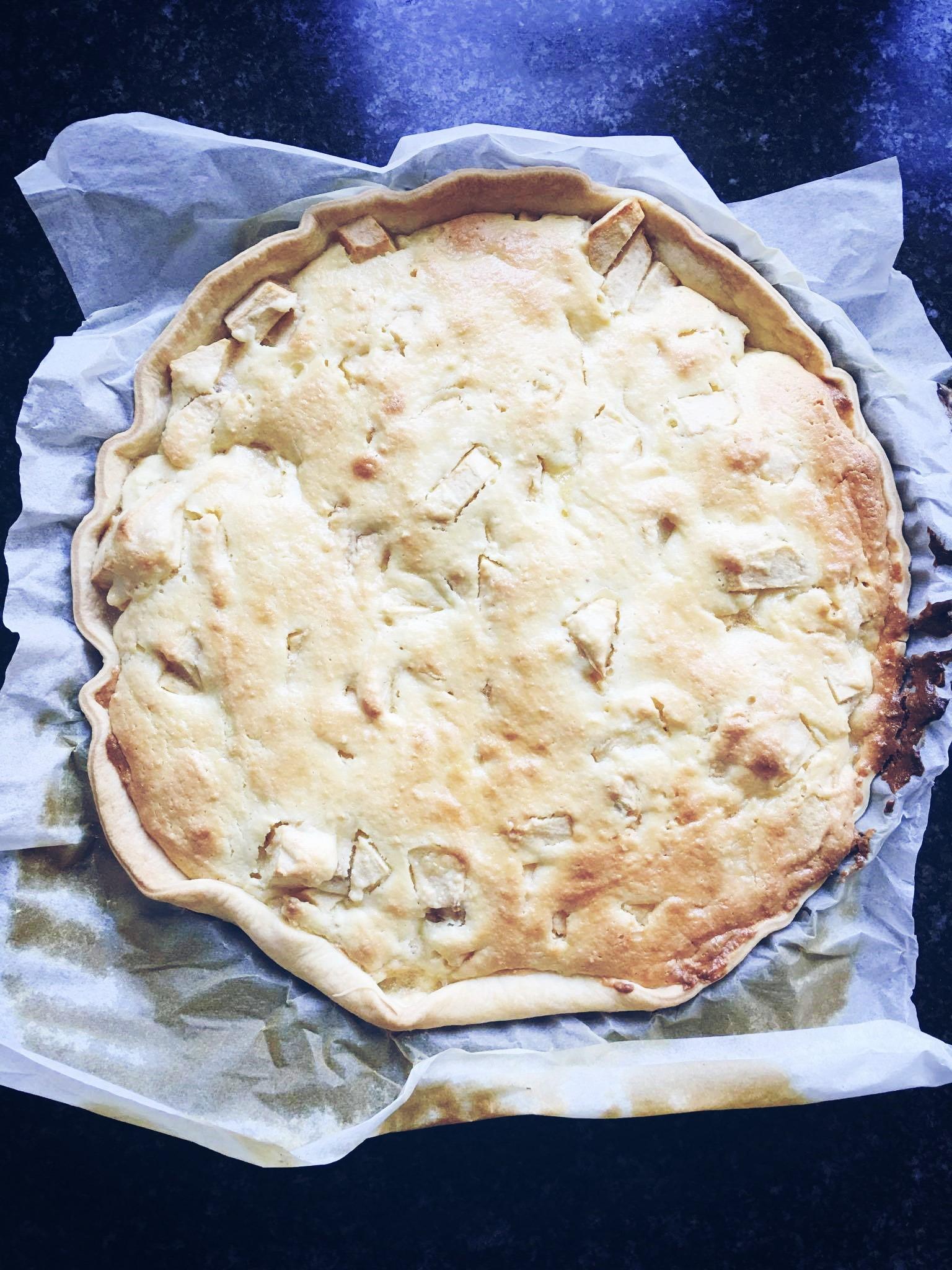 Recept • Mascarponetaart met appels voor dummies