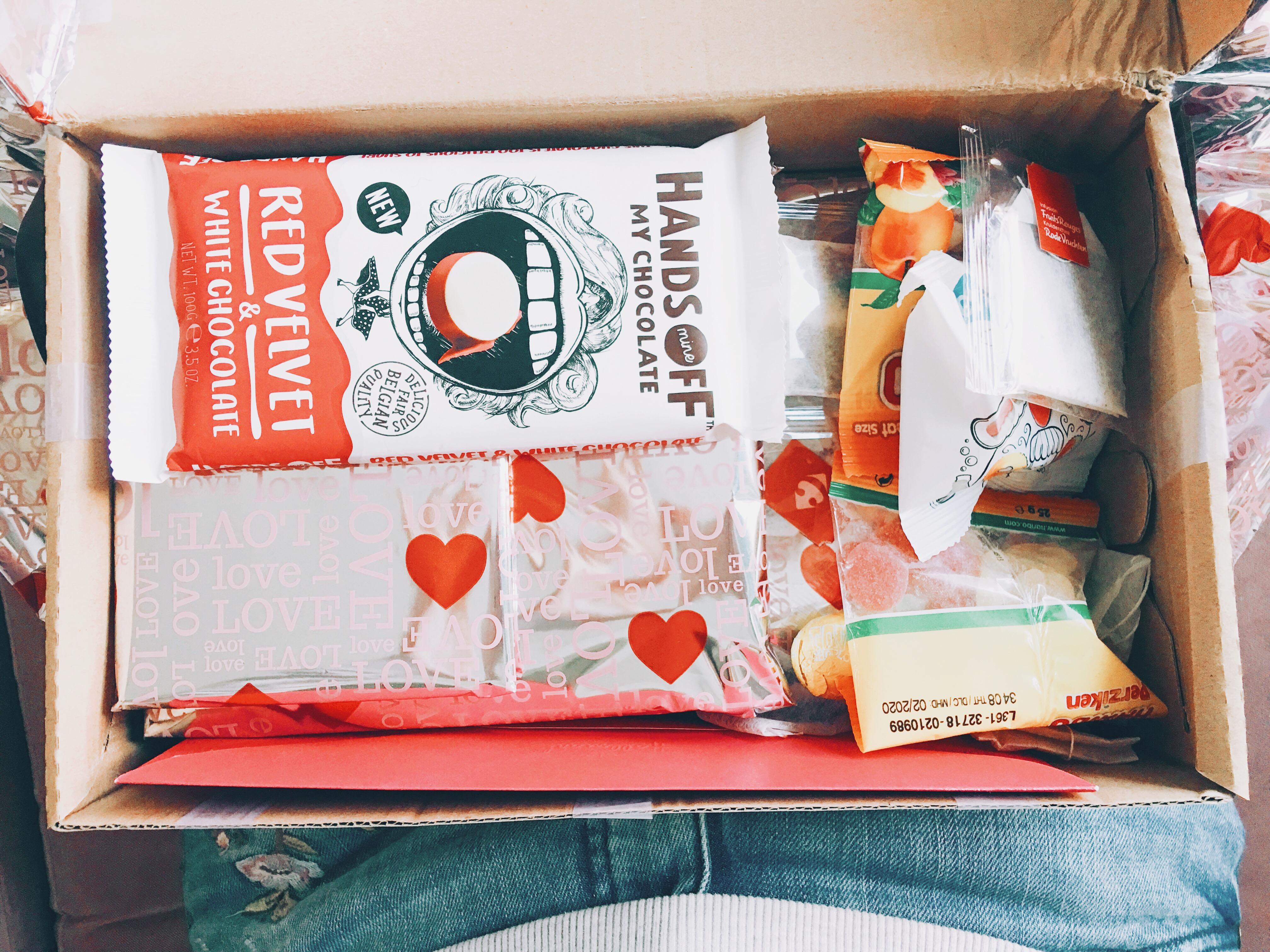 Unboxing Valentijnsswap.