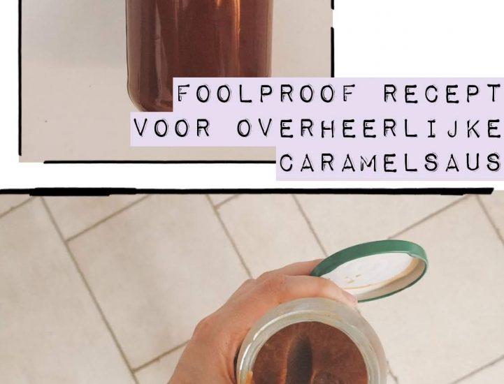 Recept | Overheerlijke (salted) caramelsaus